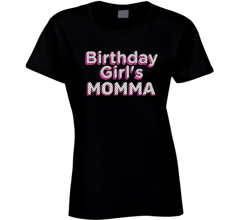 L.o.l. Doll Theme Birthday Girl's Momma Ladies T Shirt