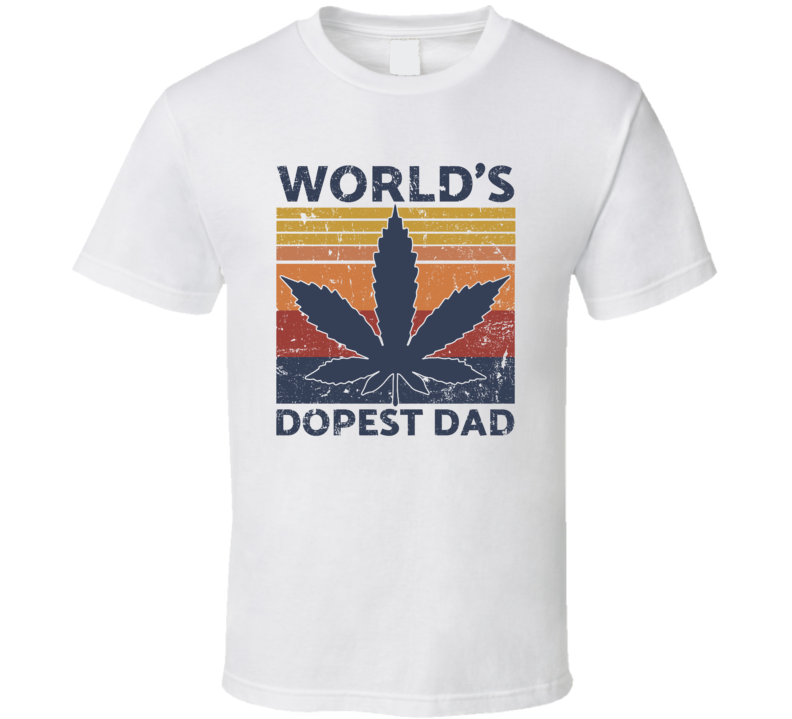 World's Dopest Dad T Shirt