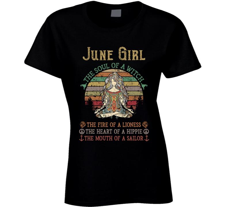 June Girl Ladies T Shirt