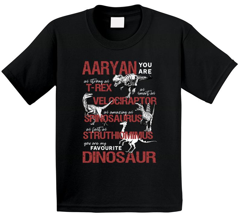 Aaryan You Are My Favourite Dinosaur T Shirt