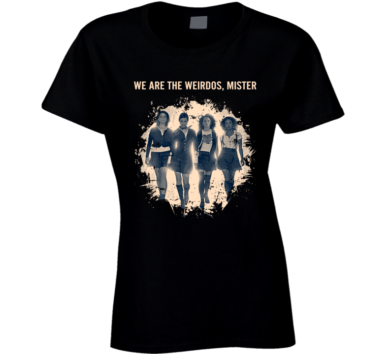 The Craft We Are The Weirdos, Mister Ladies T Shirt