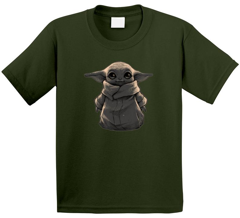 Baby Yoda The Mandalorian Fan T Shirt