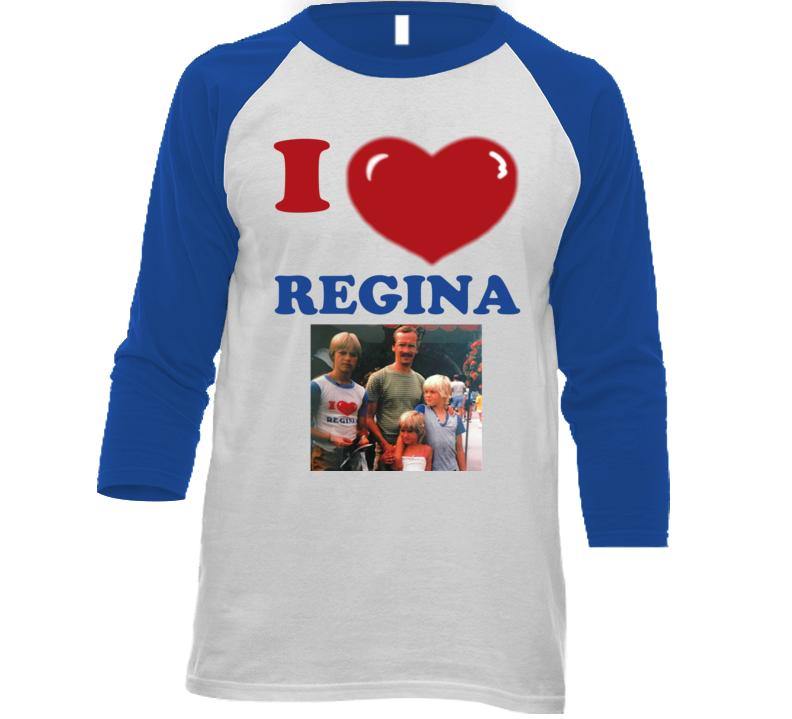I Love Regina With Photo T Shirt