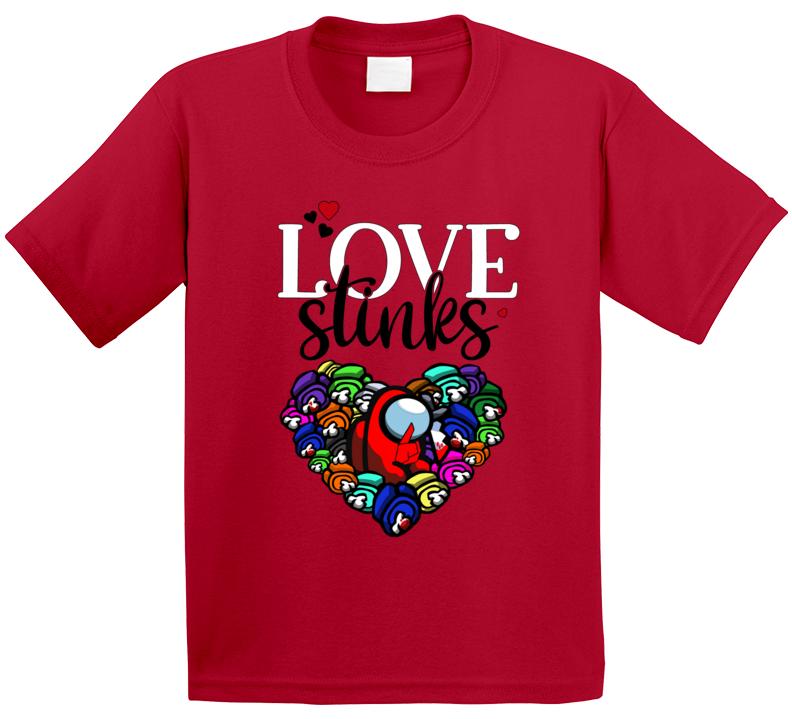 Love Stinks Among Us Fan T Shirt