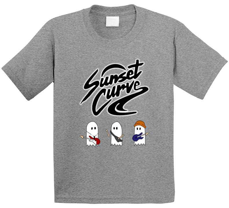 Sunset Curve T Shirt