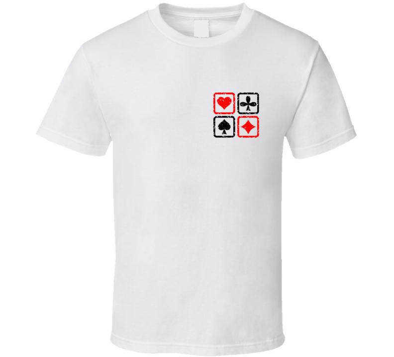 Cards Suit Poker Euchre Fan T Shirt