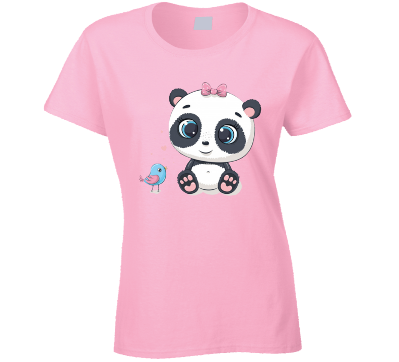 Panda & Birdy Ladies T Shirt