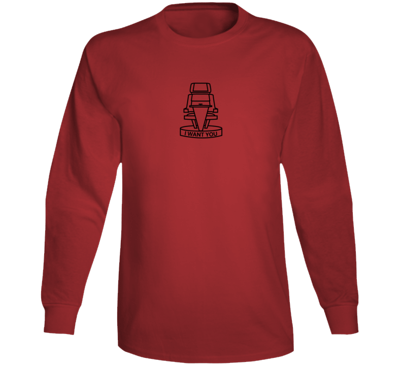 The Voice Fan I Want You (back) Long Sleeve T Shirt