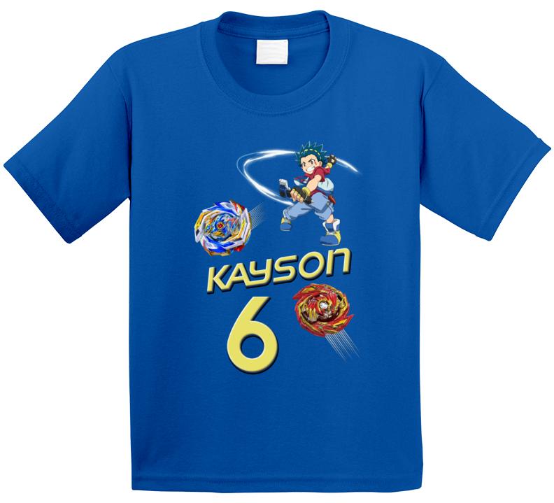 Beyblade Fan 6th Birthday T Shirt