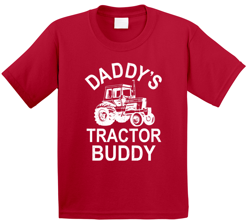 Daddy's Tractor Buddy T Shirt