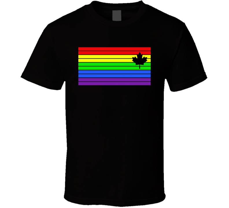 Canada All Colours T Shirt