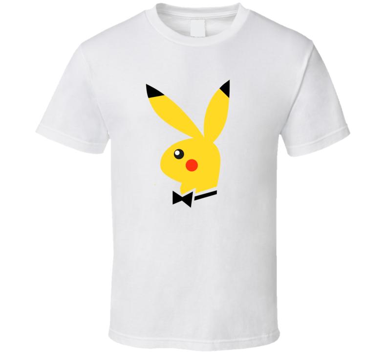 Playboy Pikachu Bunny T Shirt