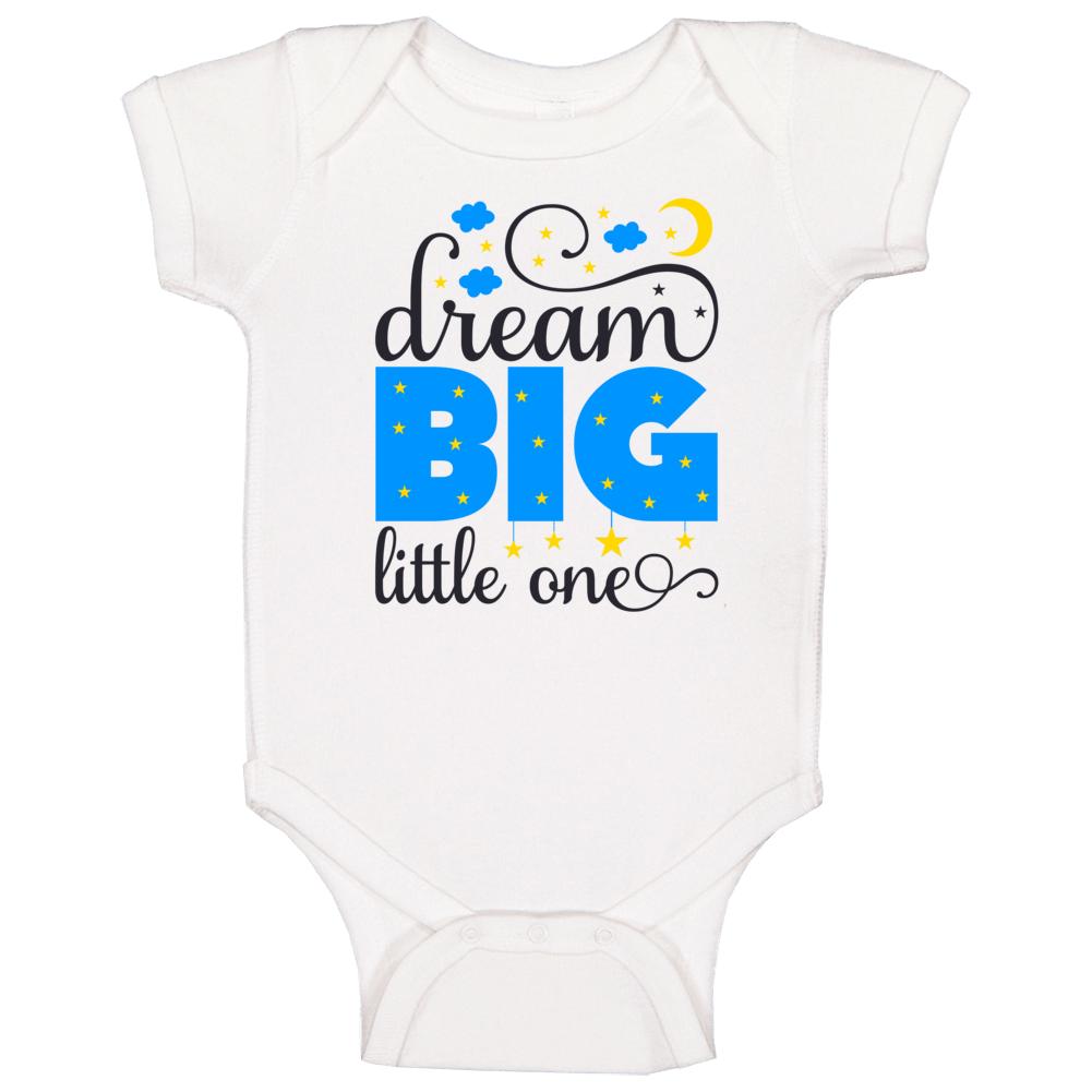 Dream Big Little One Baby One Piece