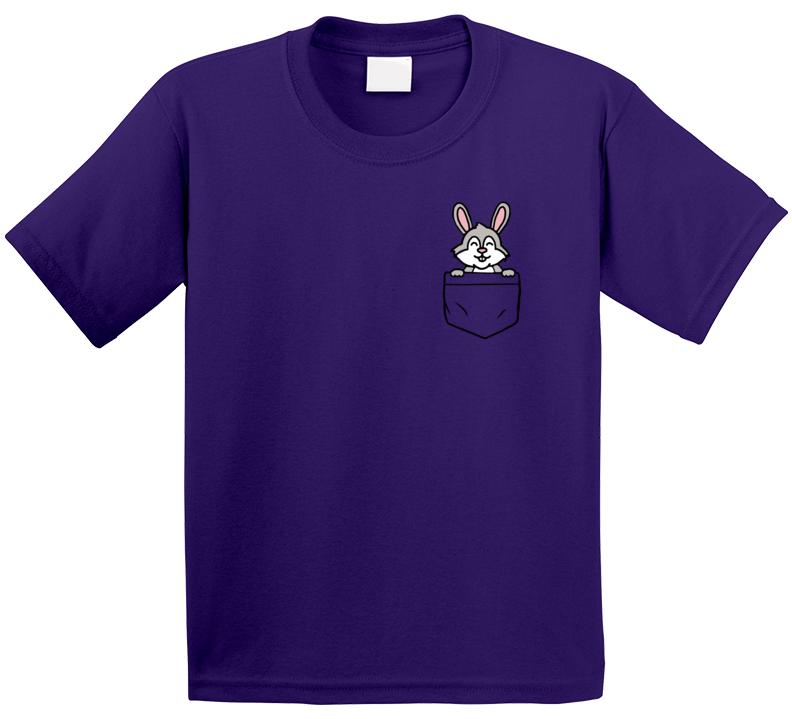 Pocket Bunny T Shirt