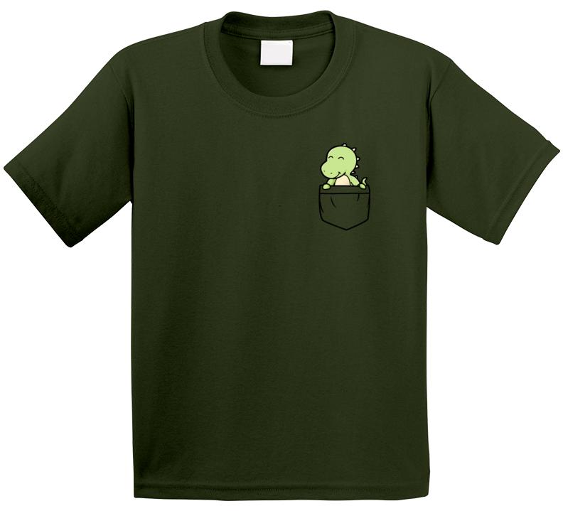 Pocket Dinosaur T Shirt