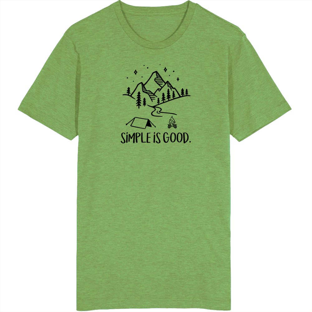 Camplife Simple Is Good T Shirt