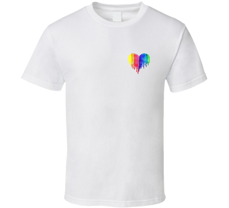 My Heart Bleeds With Pride T Shirt