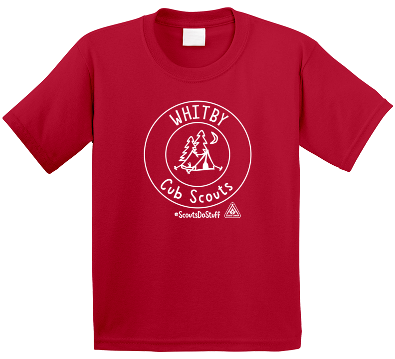 Whitby Cub Scouts #scoutsdostuff T Shirt