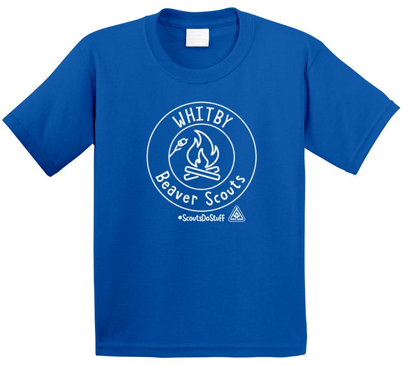 Whitby Beaver Scouts #scoutsdostuff T Shirt