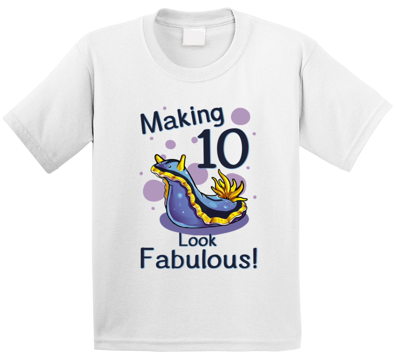 Sea Slug Making 10 Years Old Look Fabulous! T Shirt