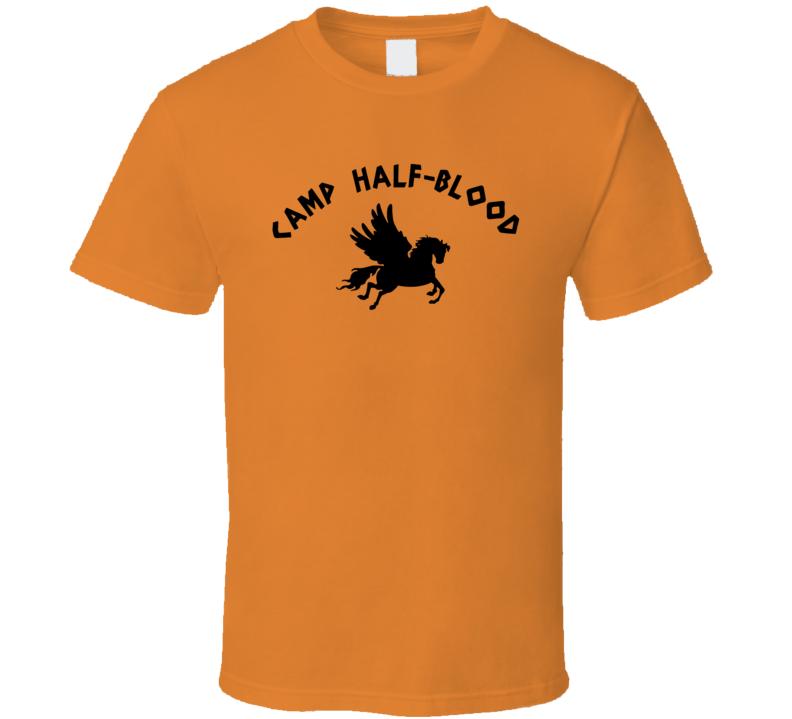 Camp Half-blood Rick Riodan Fan T Shirt