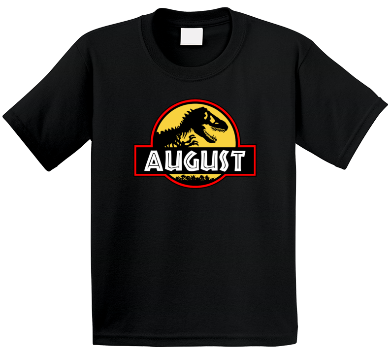 Dinosaur Jurassic Park Fan August T Shirt