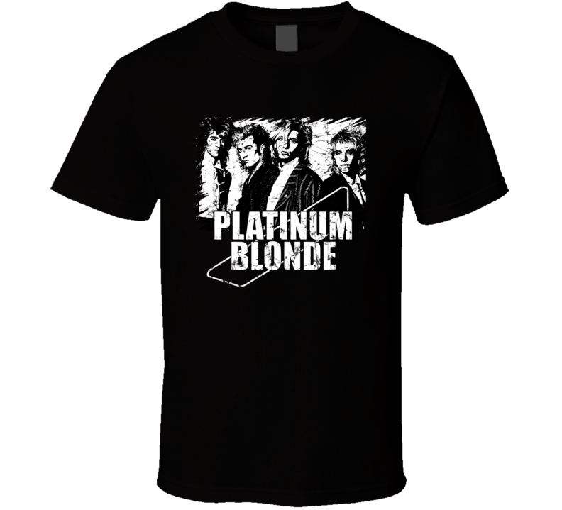 Platinum Blonde Fan T Shirt