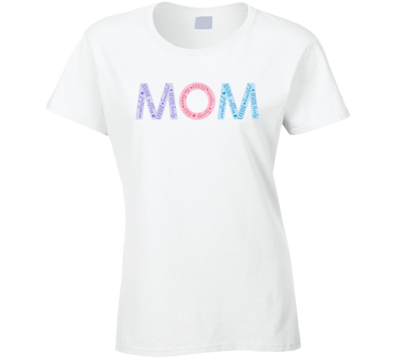 Definition Of Mom Ladies T Shirt