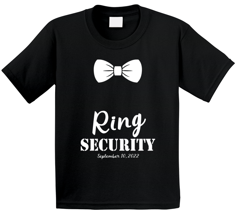Ring Security T Shirt