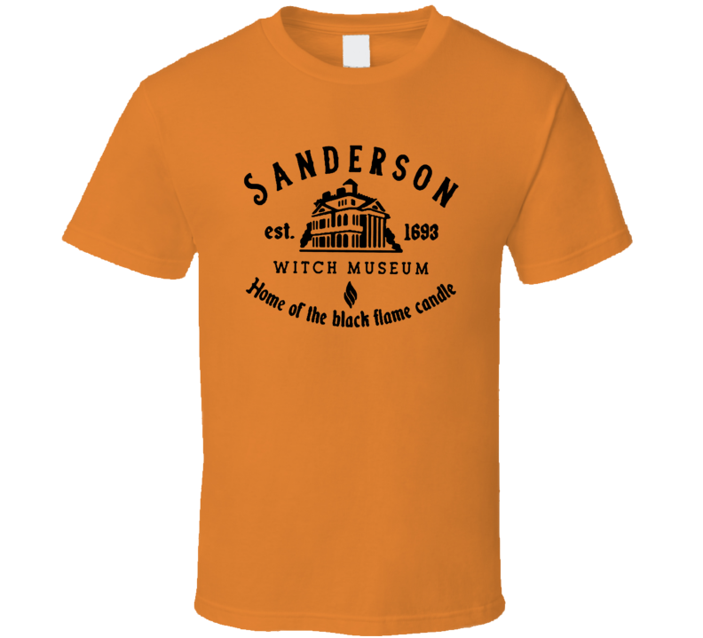 Sanderson Museum Home Of The Black Flame Candle T Shirt