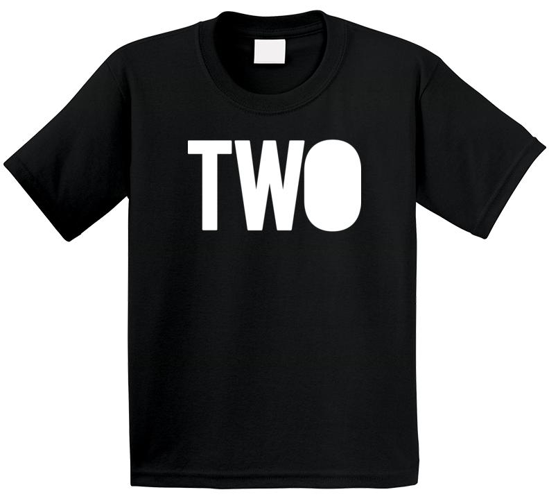 2nd Birthday Two T Shirt