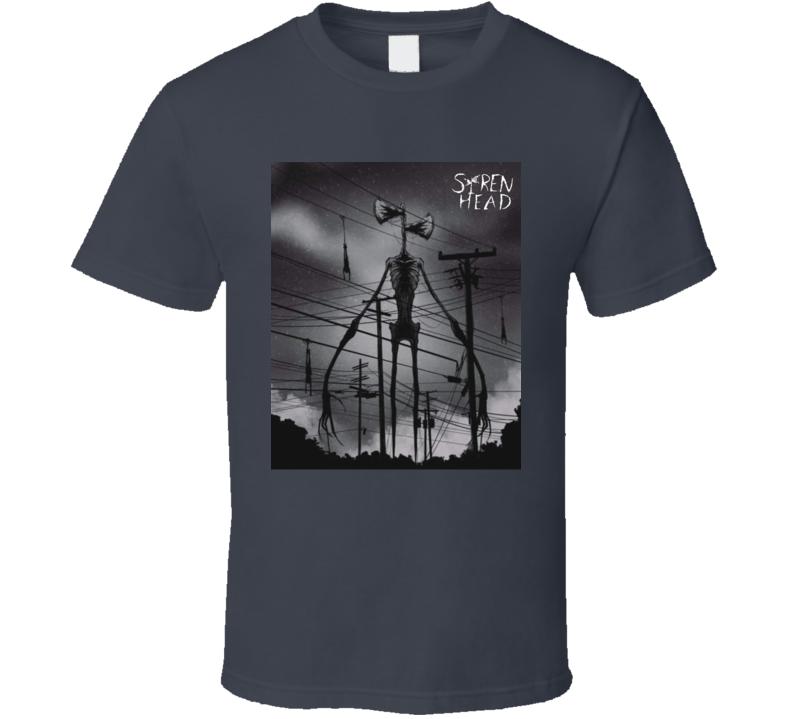Siren Head Fan T Shirt