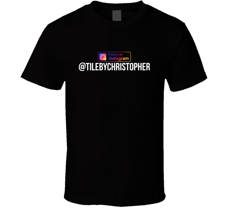 Tile By Christopher (full Back Version) T Shirt