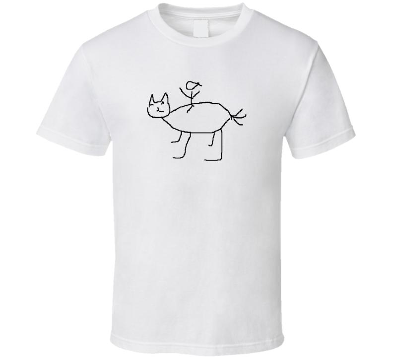 Golden Cat T Shirt