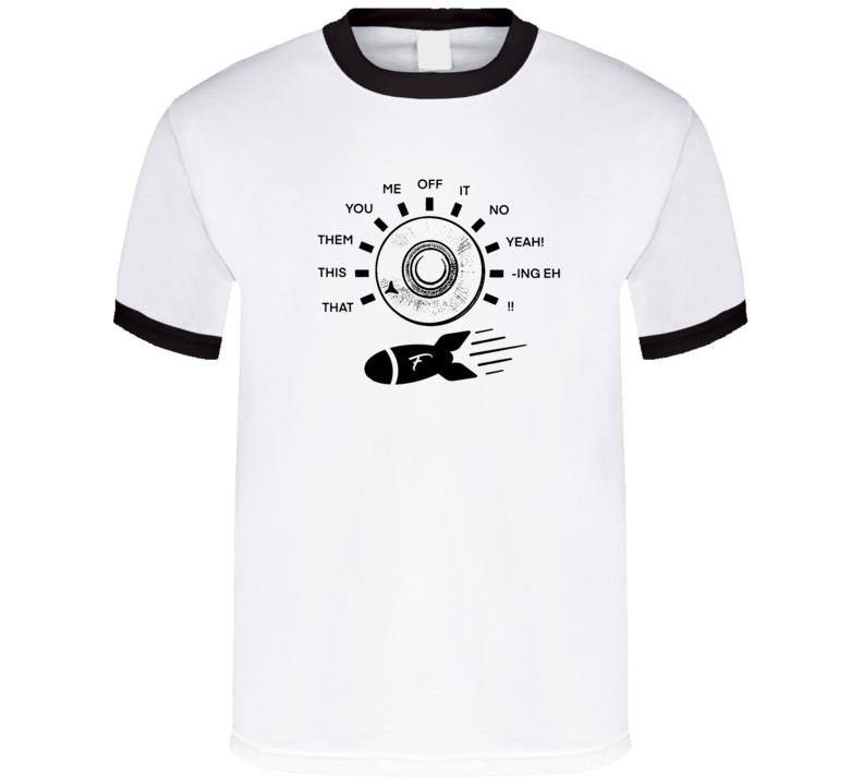 F-bomb Dial T Shirt