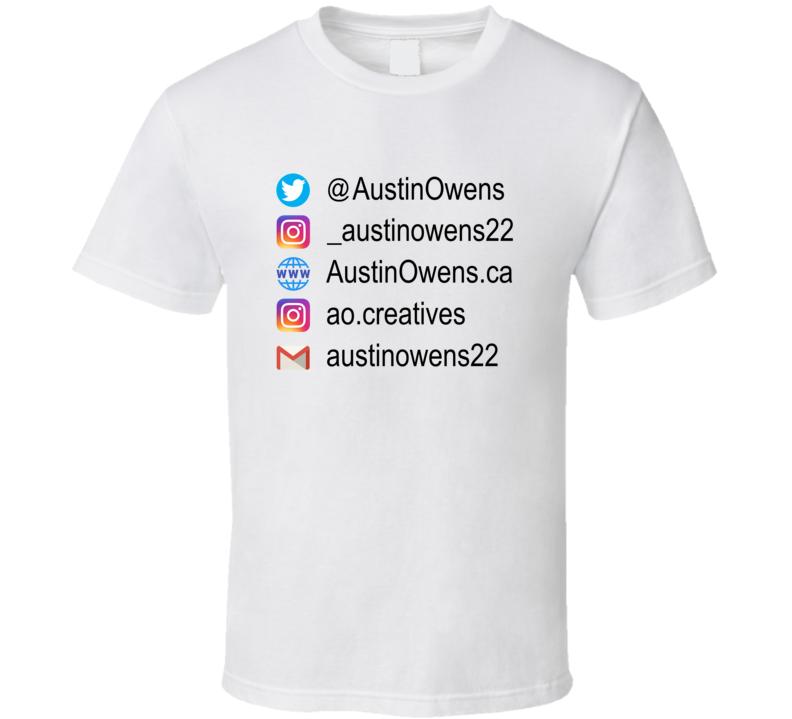 Austin Owens Content Specialist (back) T Shirt