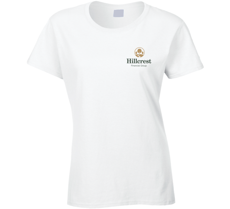 Hillcrest Financial Group (pocket) Ladies T Shirt