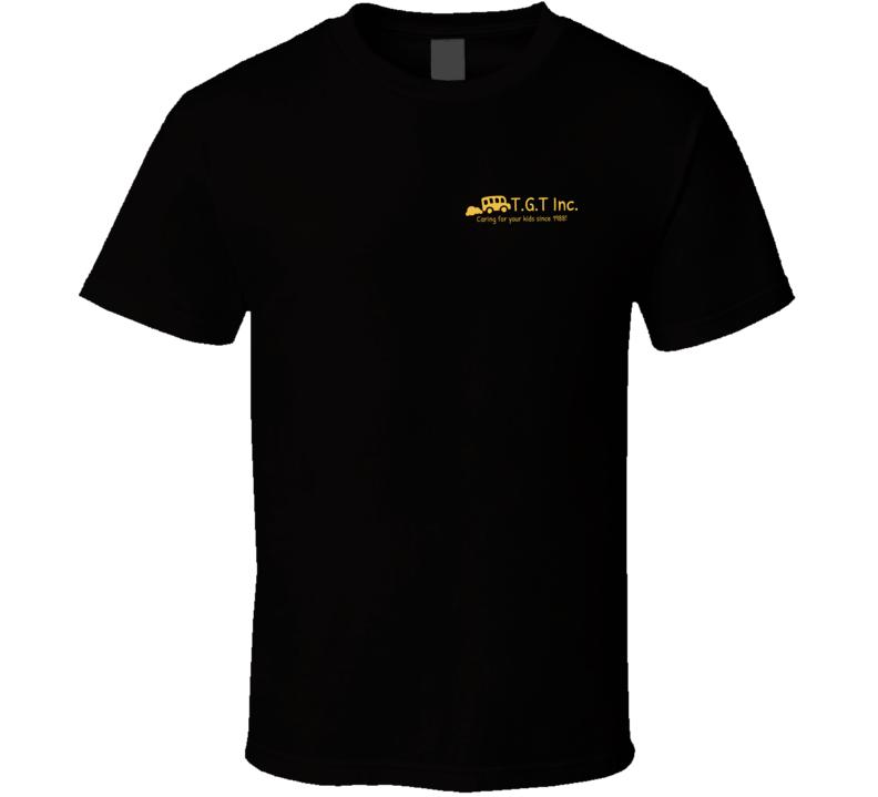 T. G. T. Inc. School Bus (breast pocket) T Shirt