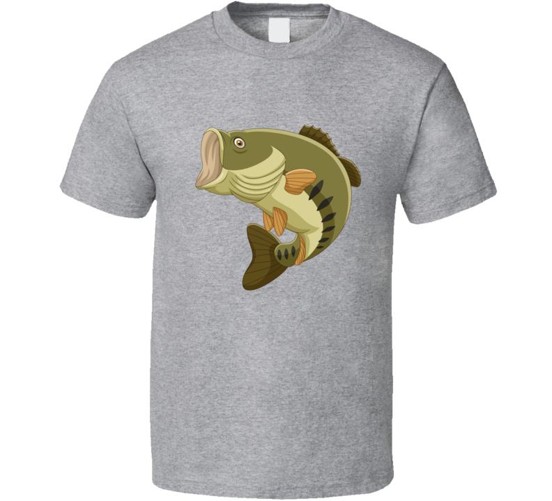 Bass Fish T Shirt