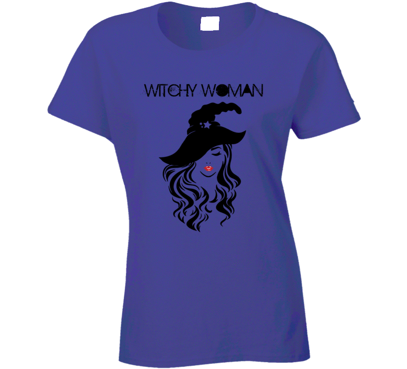 Witchy Woman Ladies T Shirt