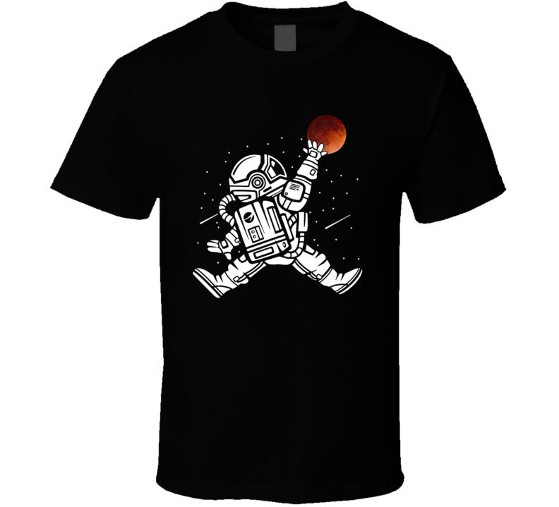 Astronaut Slam Dunk T Shirt