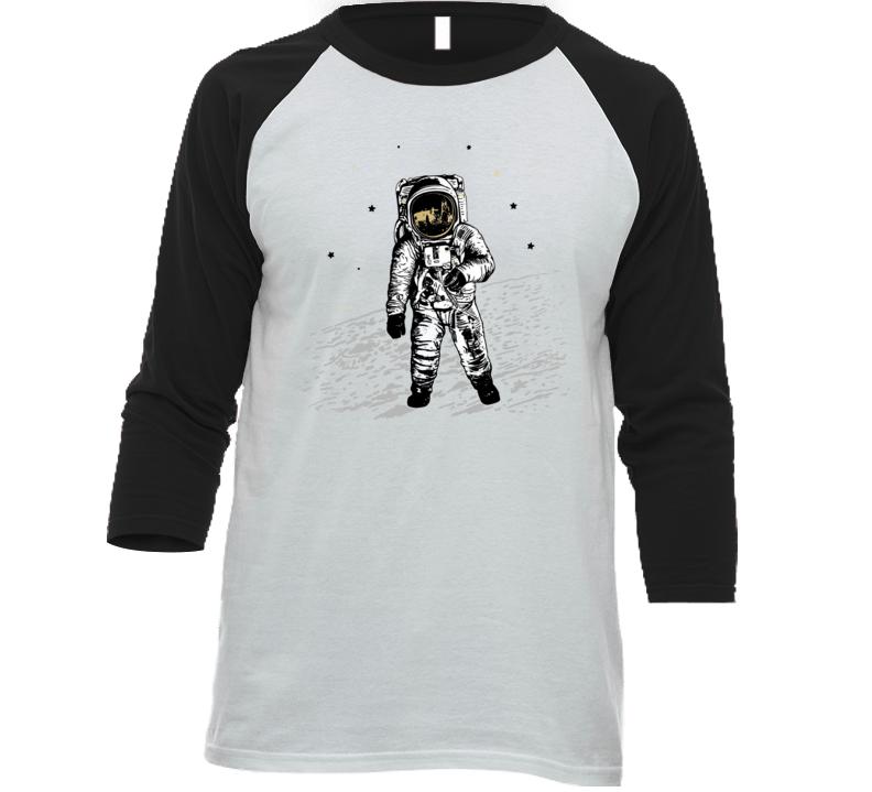 Astronaut On The Moon T Shirt