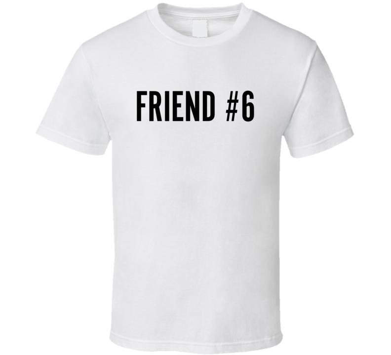 Scott's 50th - Friend #6 (back) T Shirt