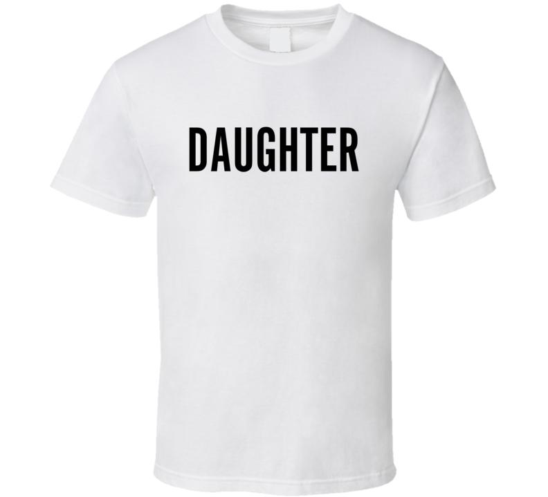 Scott's 50th - Daughter (back) T Shirt