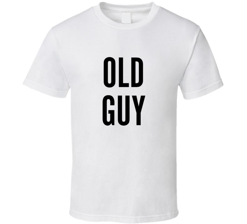 Scott's 50th - Old Guy (back) T Shirt