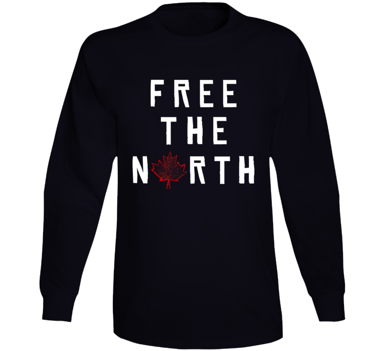 Free The North Long Sleeve T Shirt