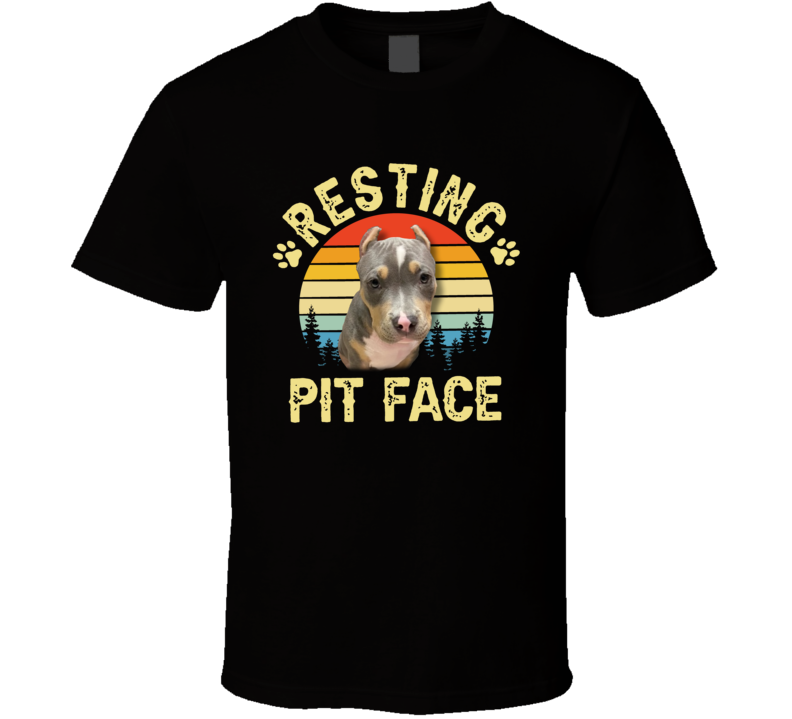 Resting Pit Face T Shirt
