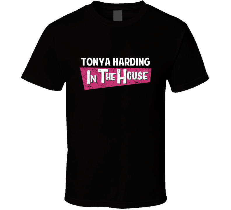 Tonya Harding Is In The House Boxer T Shirt