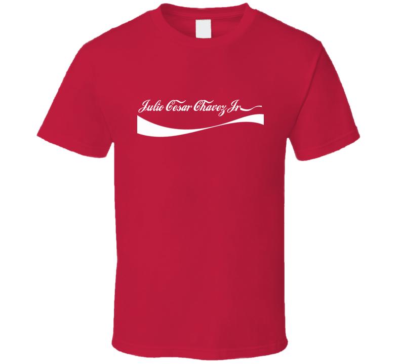 Cola Parody Julio Cesar Chavez Jr. Boxer T Shirt