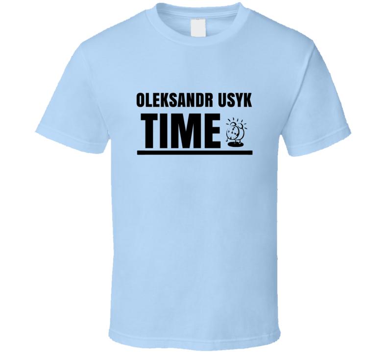 Oleksandr Usyk Time Boxer T Shirt